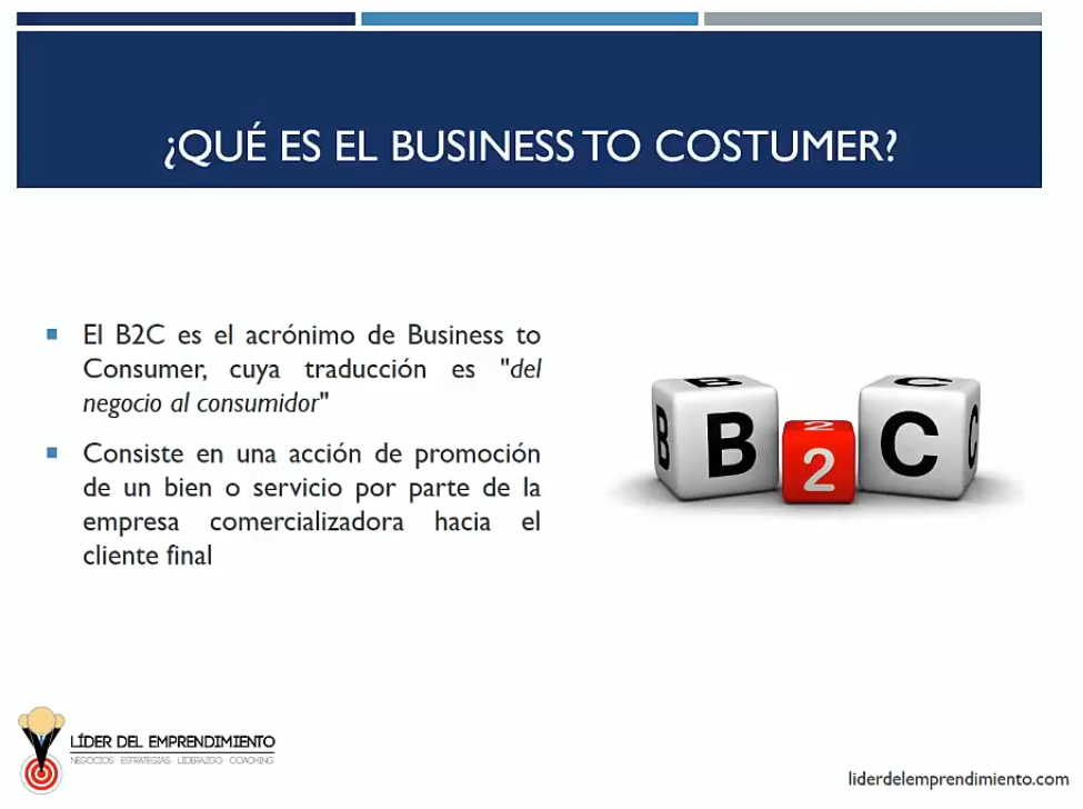 Business to Costumer (B2C)