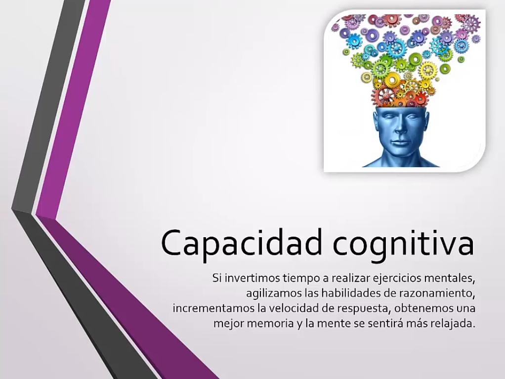 Capacidad cognitiva