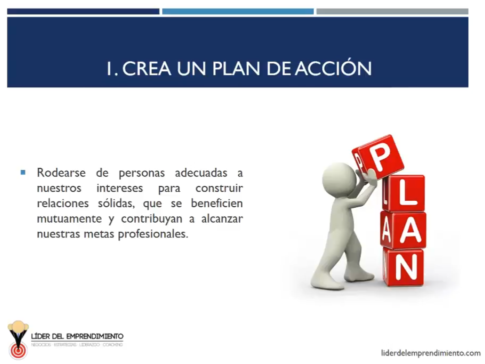 Crea un plan de acción