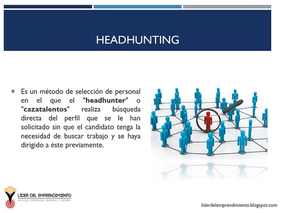 El headhunting