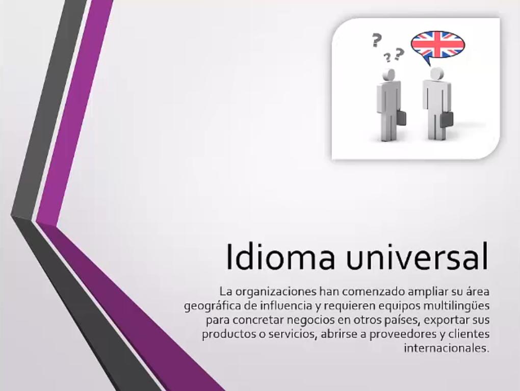 El inglés cómo idioma universal
