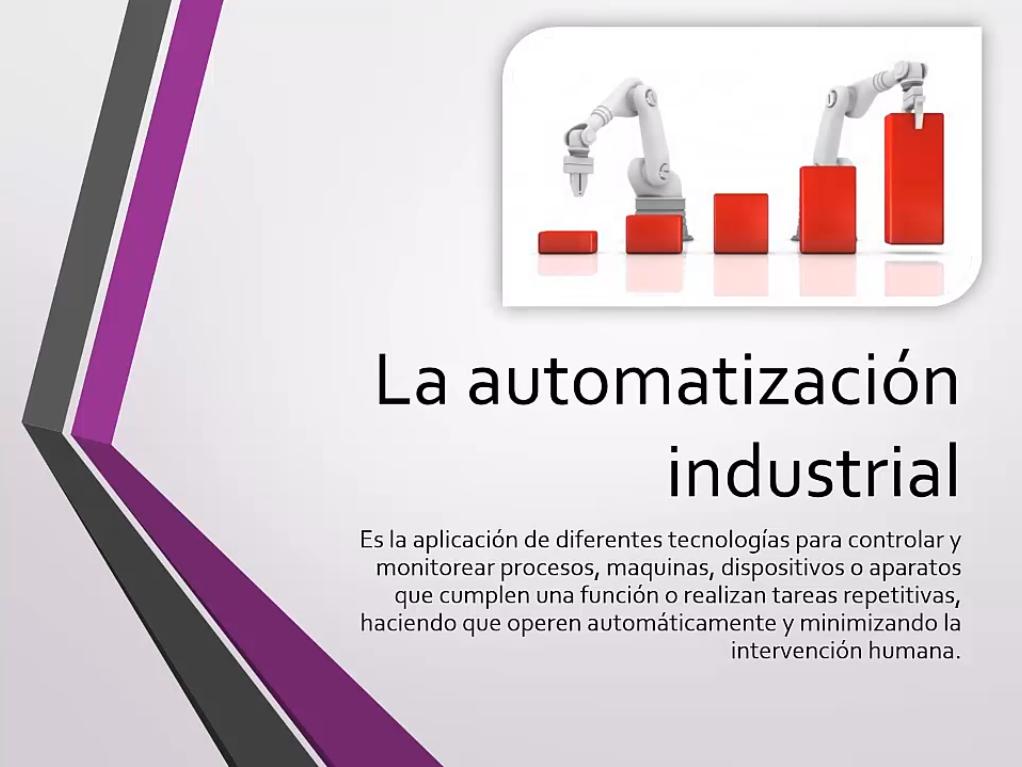 La automatización industrial
