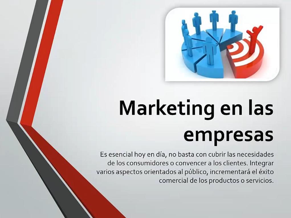 Marketing en las empresas