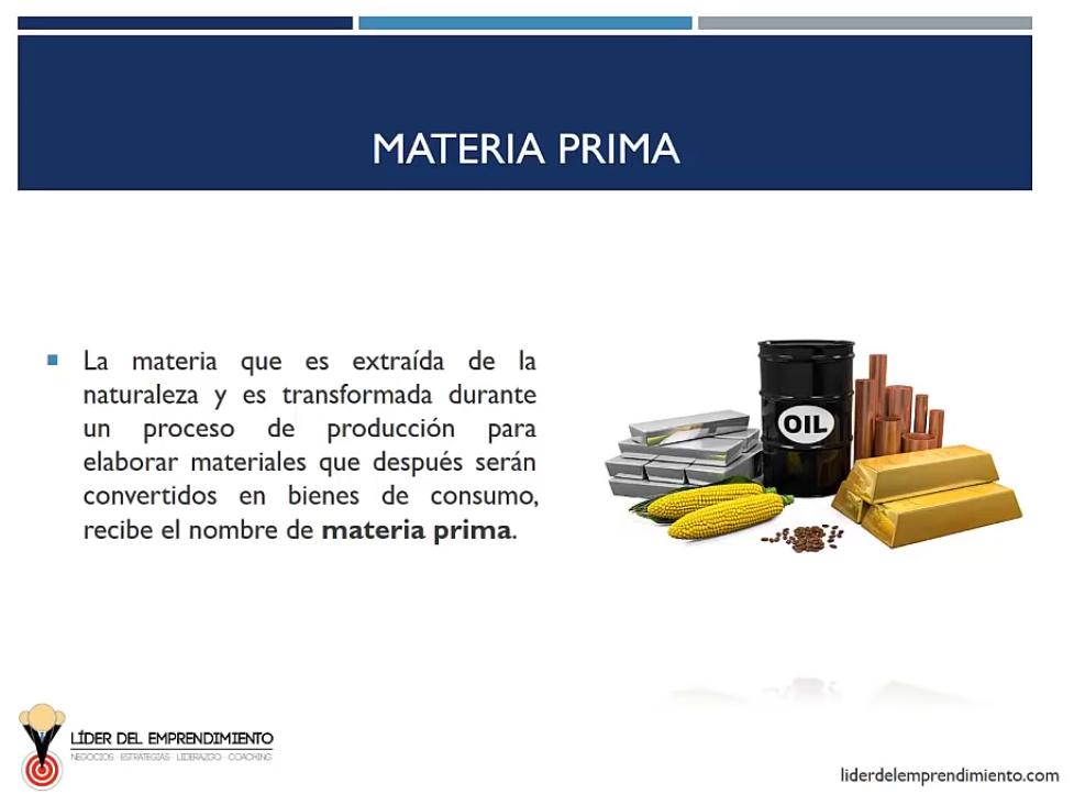 Materia prima