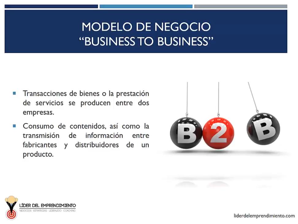 Modelo de negocio Bussiness to Bussiness (B2B)