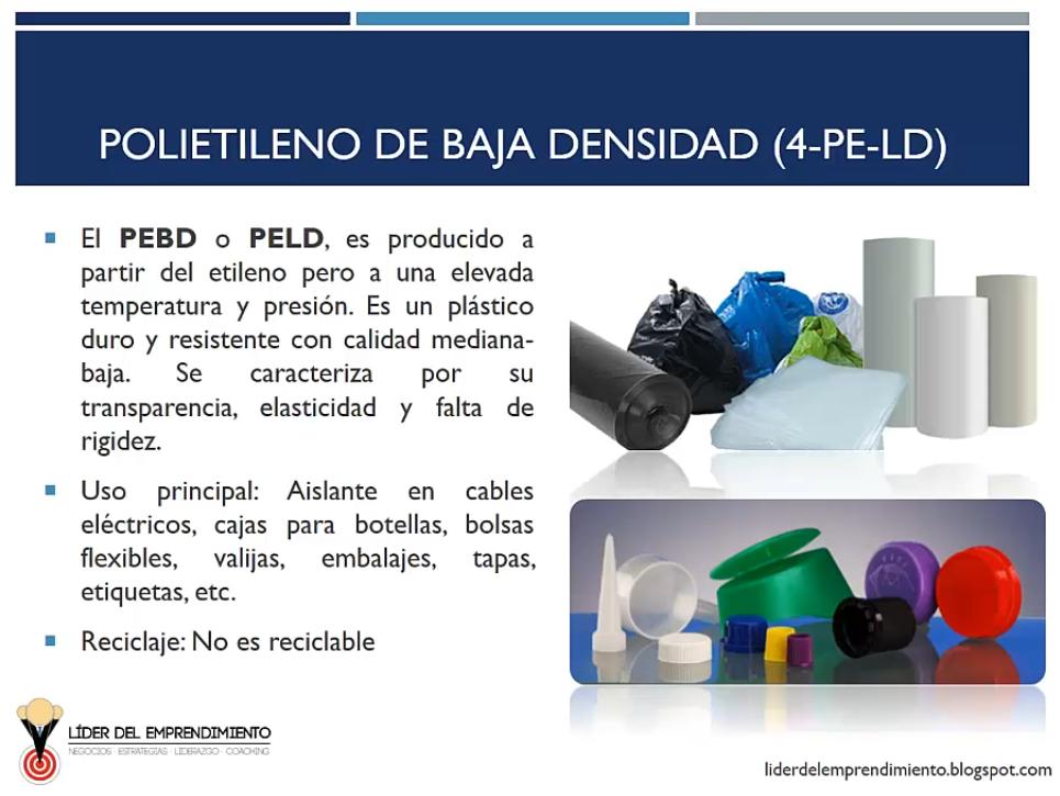 Polietileno de baja densidad (PEBD)