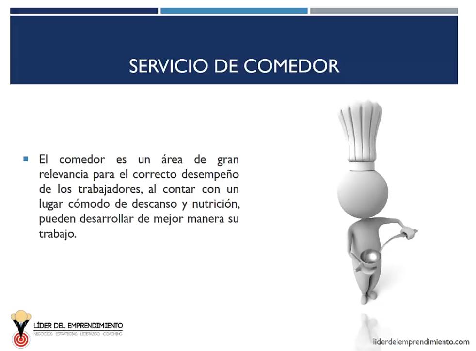 Servicio de comedor en las empresas