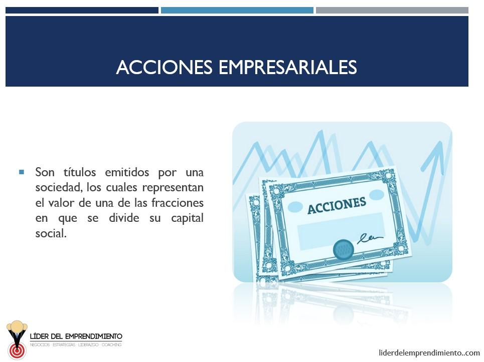Acciones empresariales