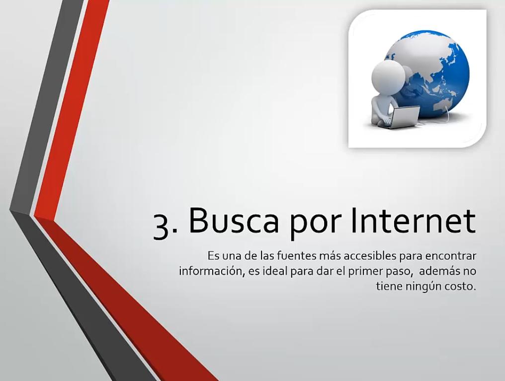 Busca información del negocio por Internet