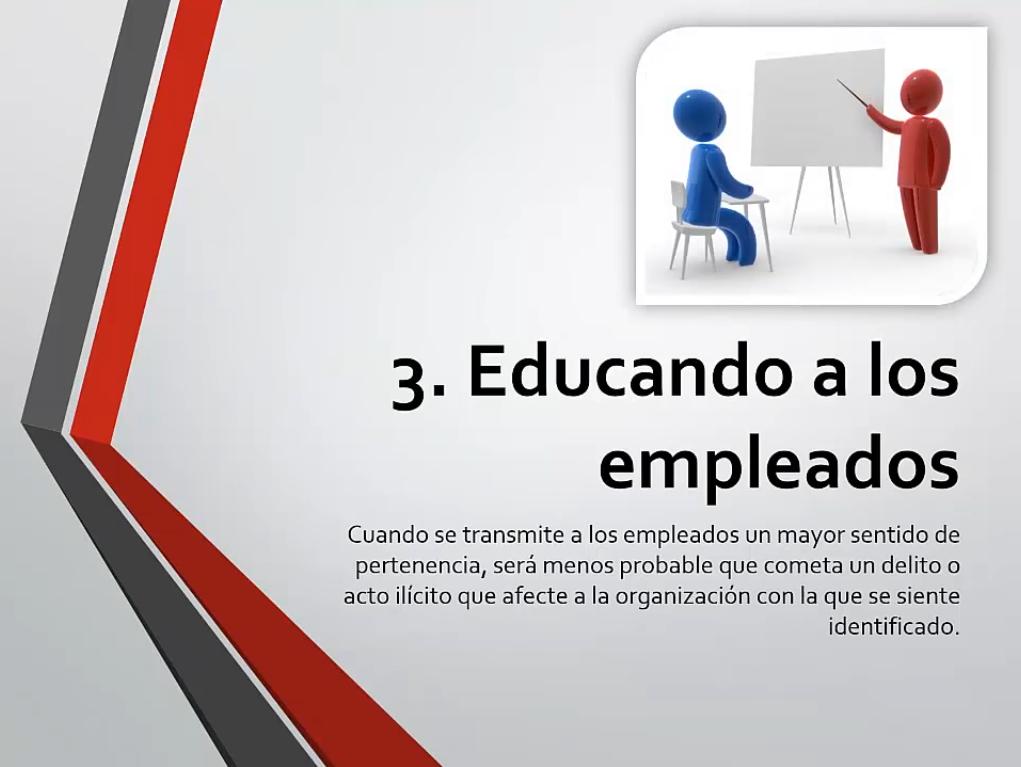 Educando a los empleados