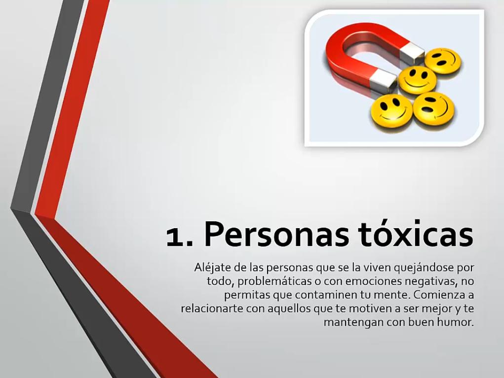 Personas tóxicas
