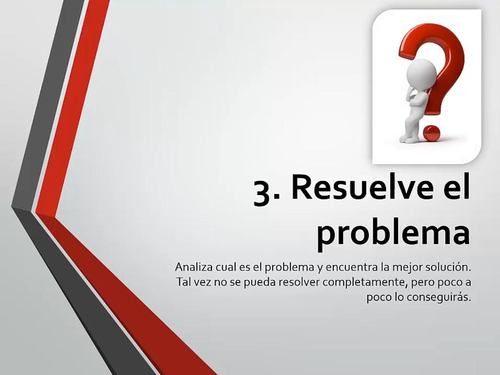 Resuelve el problema
