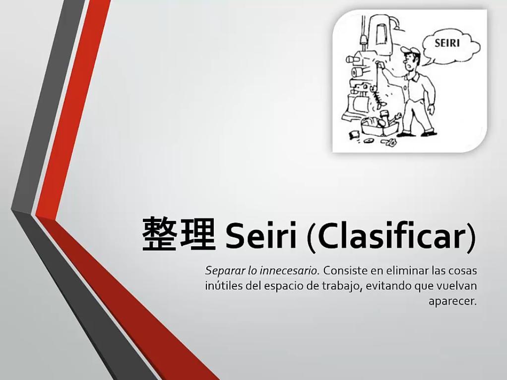 Seiri (Clasificar)