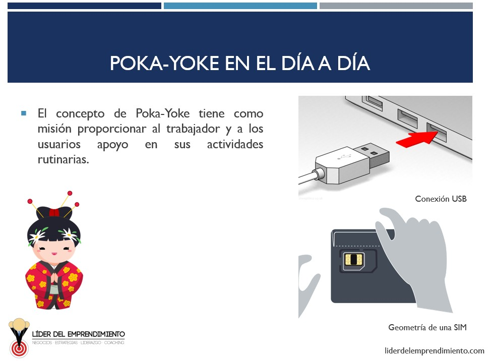 Ejemplos de Poka Yoke