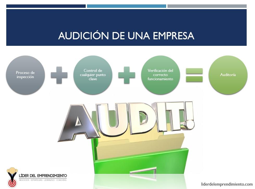 Audición de una empresa